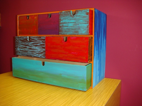 Each box received tlc. <3