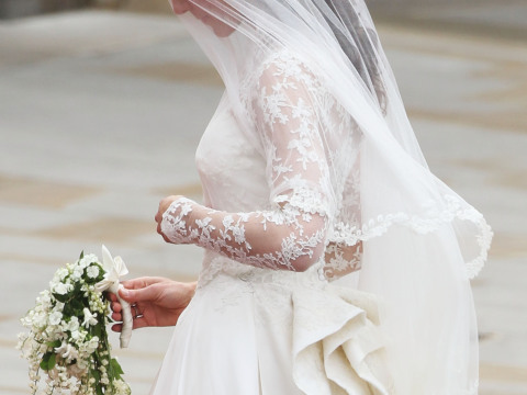 kate middleton wedding dress alexander. Fun fact: Kate#39;s official