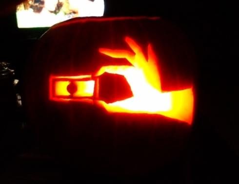 Dexter Pumpkin Slide