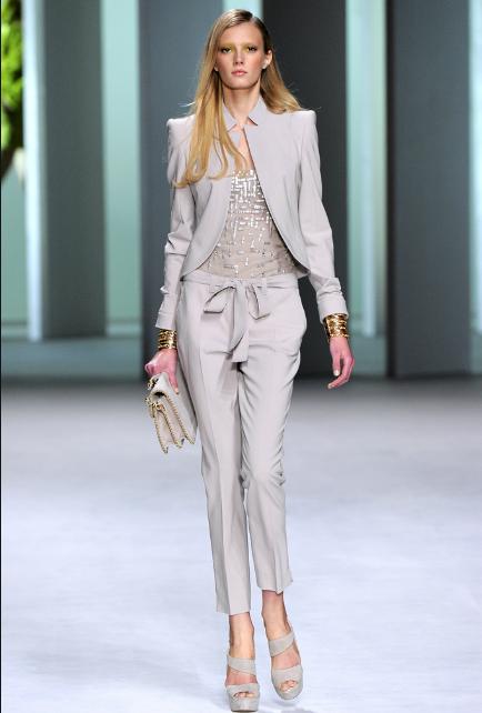 Elie Saab RTW Spring 2011 Suit
