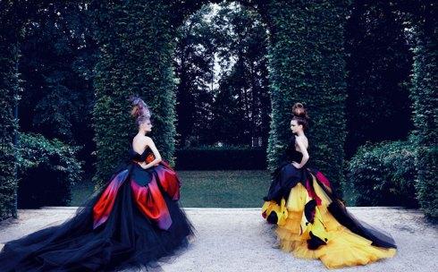 Dior Couture Patrick Demarchelier Karlie Kloss Maryna Linchuck Monika Jac Jagaciak Sasha