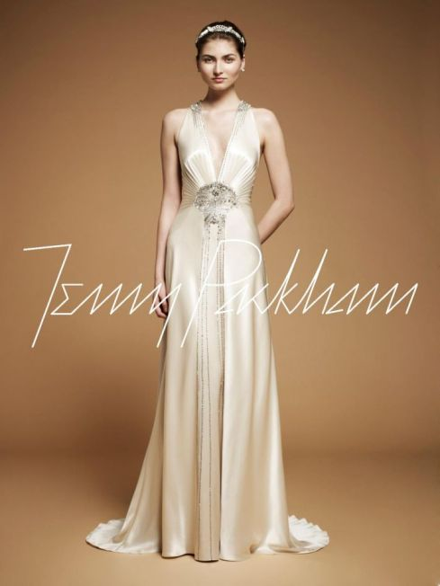 Jenny Packham Wedding Dress Fall 2012 Imari
