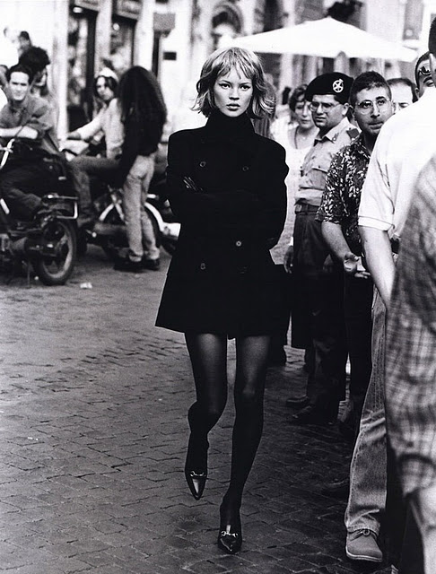 Peter Lindbergh Kate Moss Fashion