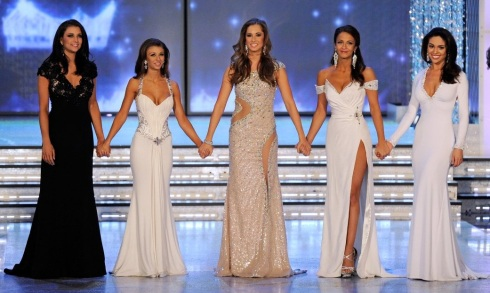 Miss America 2012 Top 5 Finalists