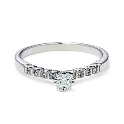 Anna Sheffield Wheat Promise Diamond Ring