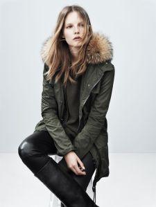 Fur Military Coat