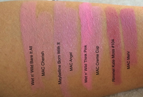 MAC Lipstick Dupes Cherish Angel Creme Cup